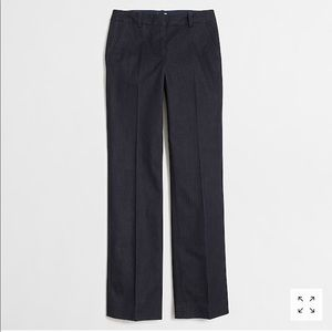 NWT! J. Crew Denim Trouser Size 14